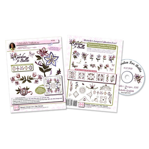 A Garden For Bella Design CD by Michelle's Designs