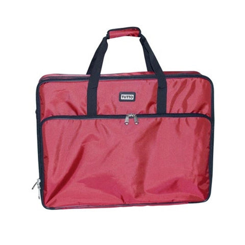 Red 25x19x5.5In. Tutto Large Embroidery Bag