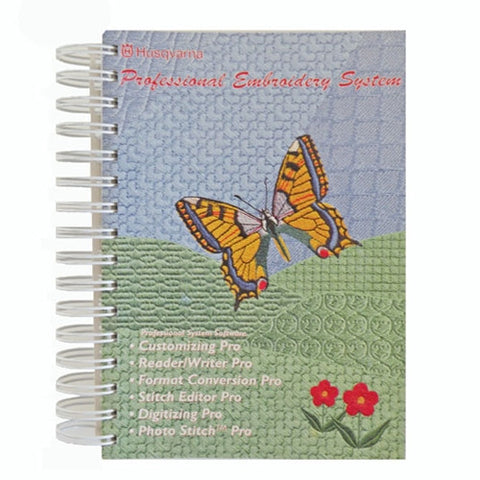 Instruction Book for Embroidery Pro