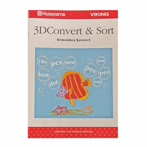 Instruction Book for 3D Convert and Sort