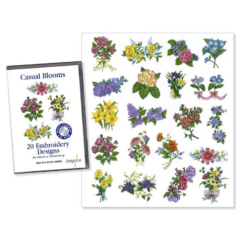 Casual Blooms Design CD by Inspira