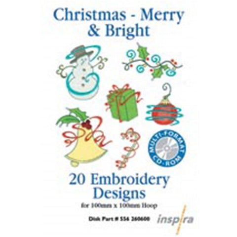Christmas Merry & Bright Design CD by Inspira
