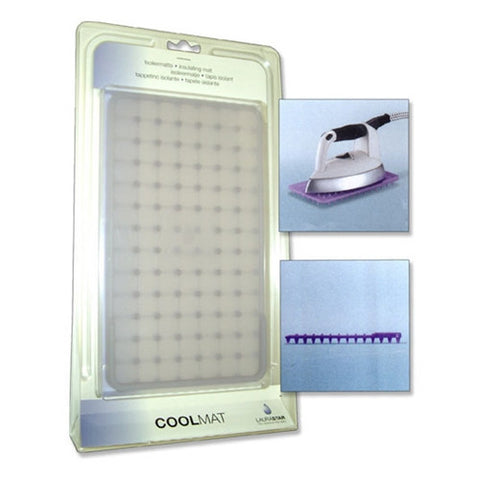 Laurastar Coolmat accessory used for safely placing a hot iron when you are ready to take a break