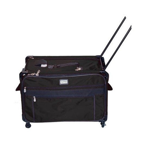 Tutto 2XL Black Machine Bag with Wheels & Handle