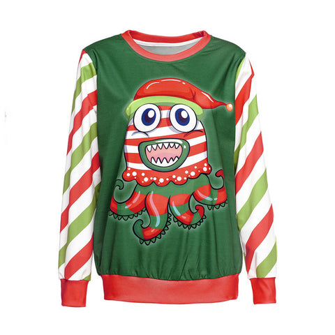 Ugly Christmas Sweater - Holiday Octopus