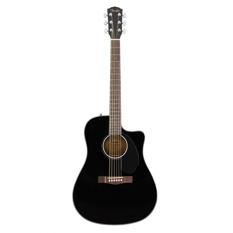 Fender CD-60SCE Classic Design Acoustic Black