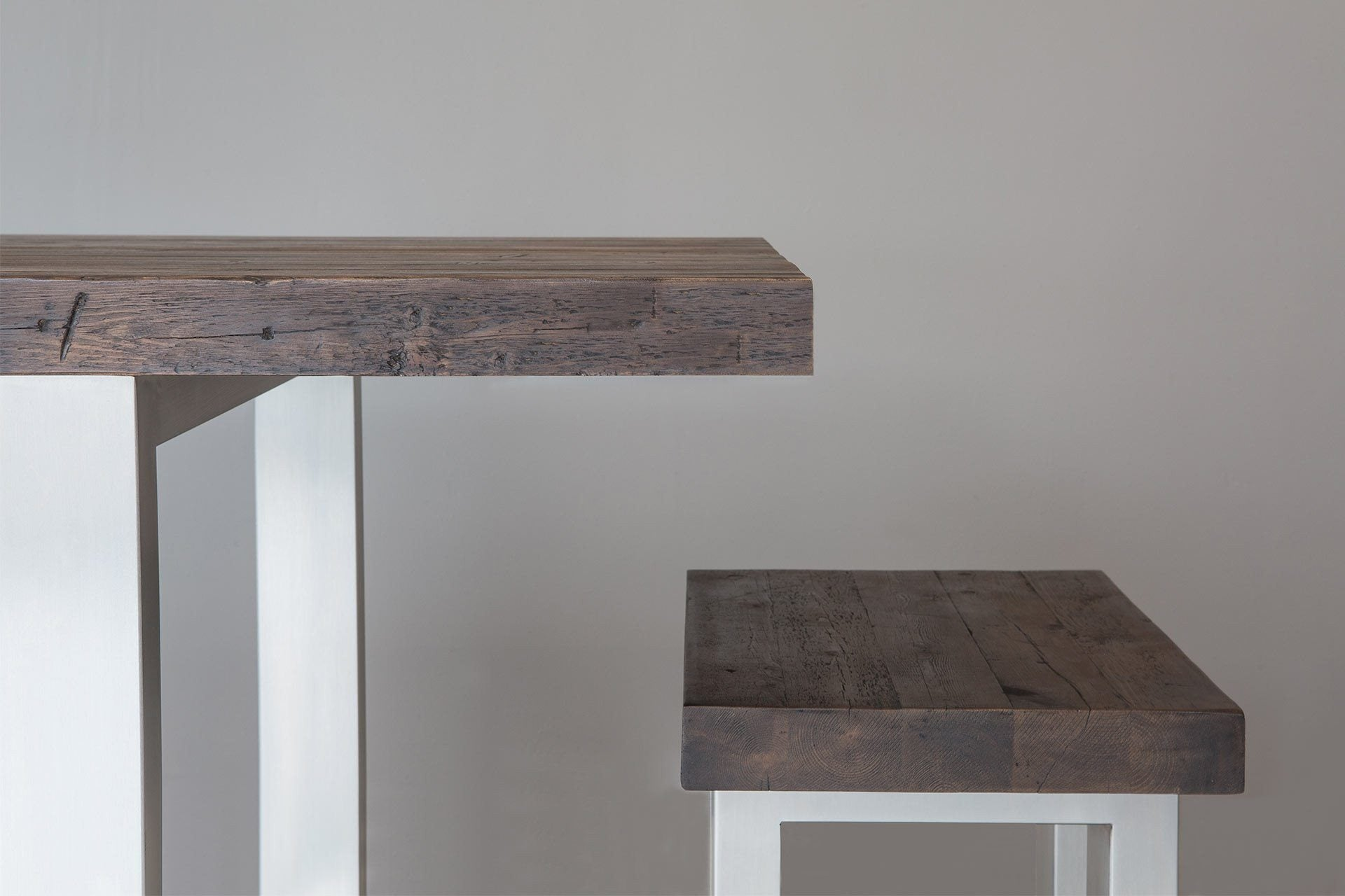 Classic Long Overhang Table With End Bench (Sold Separately)