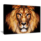 Lion oversized canvas art print