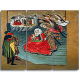MasterPiece Painting - Jaume Huguet Miracle of Mont Saint