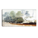 MasterPiece Painting - JMW Turner On the Washburn
