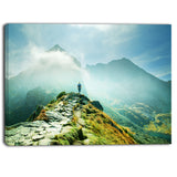 mountains landscape photography canvas art print PT6799