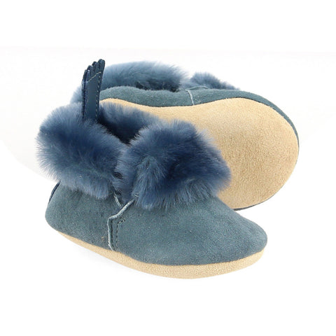 Minion Grey Blue Slippers