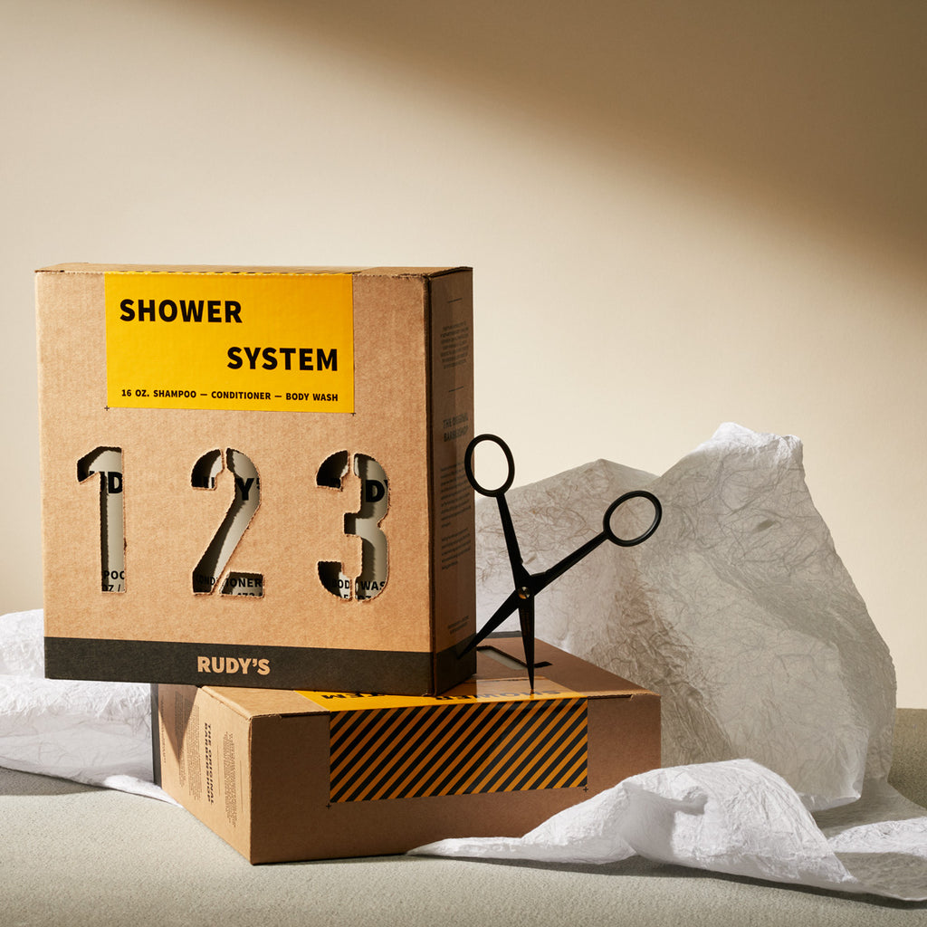 Boxed Shower System