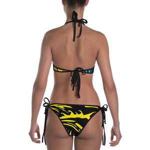Swimming Tiger Bikini - David Hinnebusch Designs