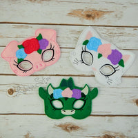 Animal Masks - Floral Crown Animals