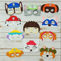 Puppy Team Masks