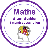 Maths Brain Builder 3 month subscription