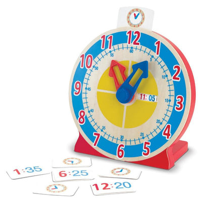 Melissa & Doug Time & Tell Clock