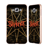 Official Slipknot Key Art Gold Aluminium Bumper Slider Case for Samsung Galaxy E7