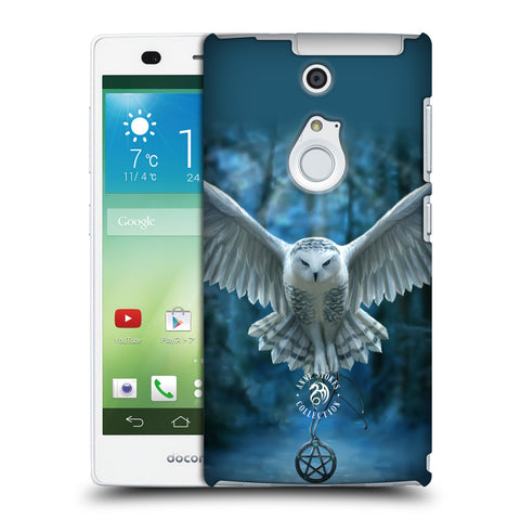 Official Anne Stokes Owls Hard Back Case for Fujitsu Arrows NX F-01F