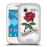 Official Selena Gomez Revival Art Soft Gel Case for Alcatel Pop C1