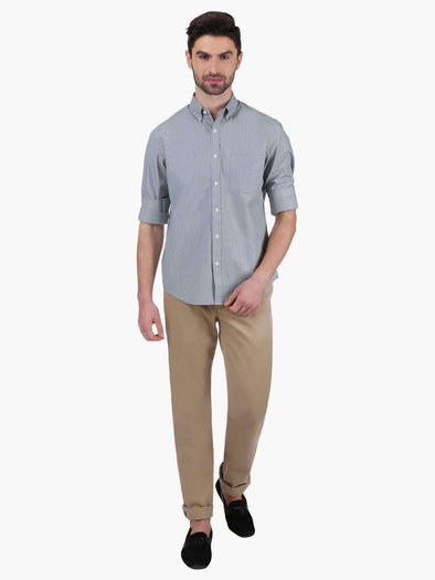 Men's Cotton Khaki Regular Fit Pants Cottonworld Men's Pants