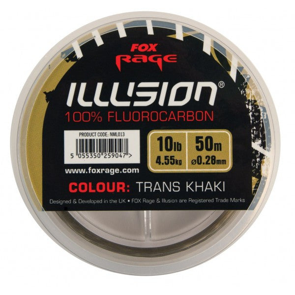Fox Rage Illusion Soft Fluorocarbon - Vale Royal Angling Centre