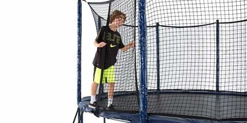 JumpSport StagedBounce 14 Round Trampoline with Enclosure - UNJ-U-21242-01
