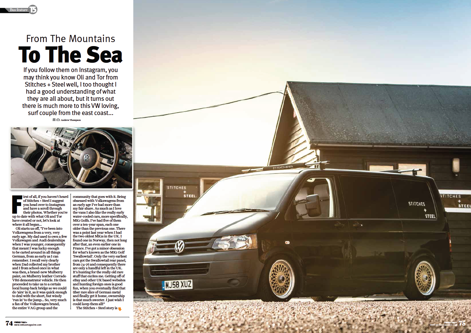 VWBUS magazine feature, Issue 69.