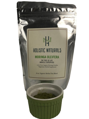 Organic Moringa Oleifera - 16oz. (453 grams) Dried Leaf Powder