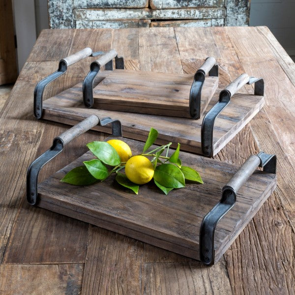 Vineyard Serving Trays Set of 3