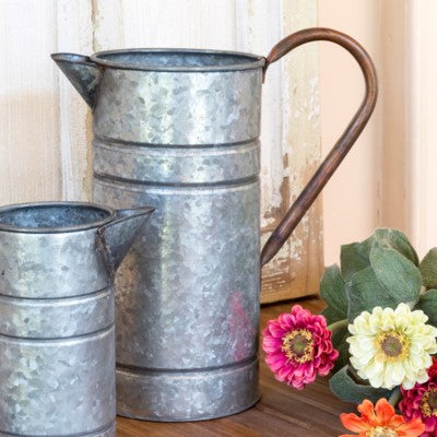 Galvanized Water Jug