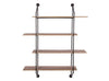 Fireman's Ladder Wall Shelf
