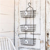 hanging numbered baskets, hanging wire storage baskets, laundry baskets, kitchen storage baskets