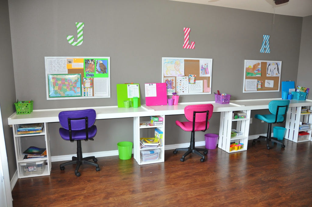 Pinterest Round-Up: 5 Amazing Homeschool Spaces