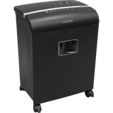 GoECOlife® Limited Edition 10 Sheet Microcut Paper Shredder GMW101Pi Black