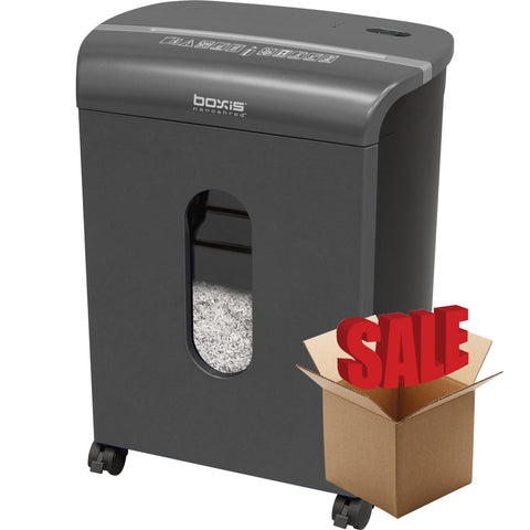 Boxis® NanoShred™ BN100P-TTN-R OPEN BOX 10 Sheet Nanocut Shredder - Titanium<br> THE NEXT EVOLUTION OF PAPER SHREDDERS