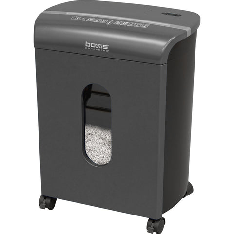 Boxis® NanoShred™ BN100P-TTN-RP Repackaged 10 Sheet Nanocut Shredder - Titanium<br> THE NEXT EVOLUTION OF PAPER SHREDDERS