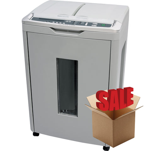 Boxis® AutoShred® 300 Sheet Autofeed Microcut Shredder AF300-R OPEN BOX