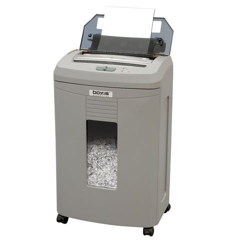 Boxis® AutoShred® 100 Sheet Autofeed Microcut Shredder AF100