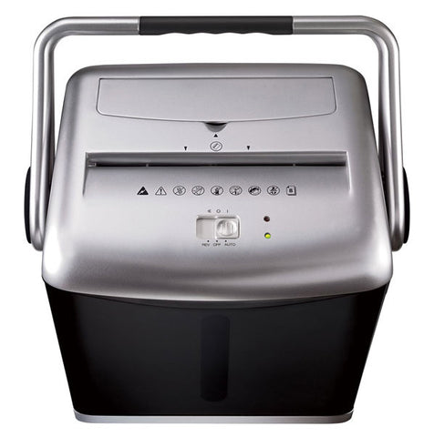 GO® 8 Sheet Diamond-Cut® Paper Shredder MQ80H Silver