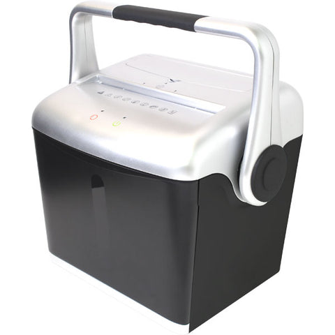 Embassy® 8 Sheet Microcut Paper Shredder with EZ-Lift™ Handle LM80Hi Silver