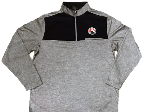 Colosseum AHL Adult 1/4 Zip Fleece Pullover (Gray)