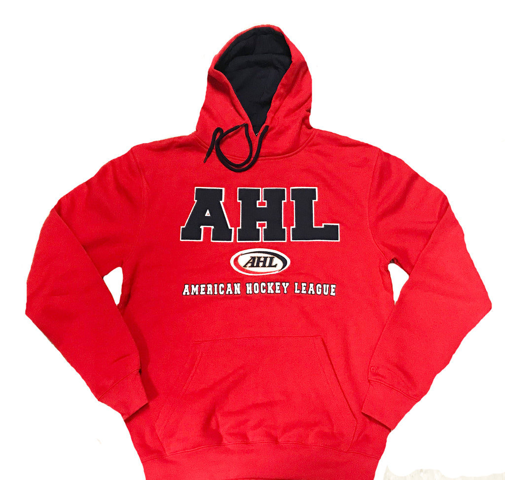 Colosseum AHL Playback Red Pullover Hoodie