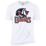 Bakersfield Condors Primary Logo Next Level Premium Short Sleeve T-Shirt