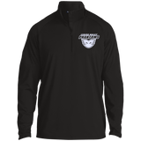 Lehigh Valley Phantoms Half Zip Raglan Performance Pullover (White Logo)