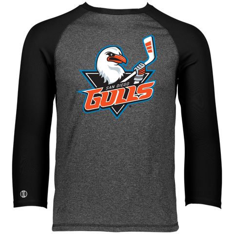 San Diego Gulls Primary Logo Holloway Men's Typhoone T-Shirt