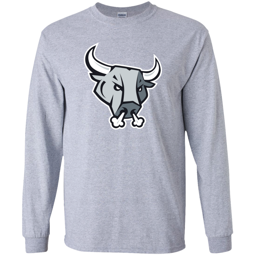 San Antonio Rampage Primary Logo Youth Long Sleeve T-Shirt
