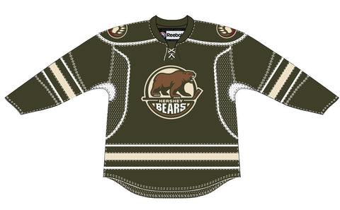 CCM Edge Hershey Bears Customized Premier Brown Jersey