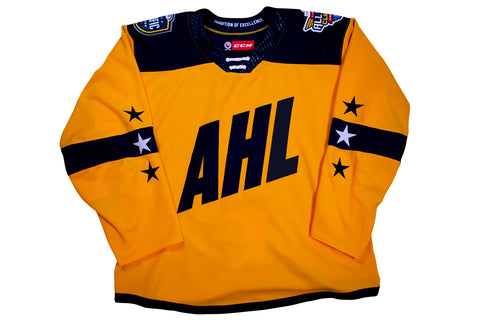 CCM Quicklite 2019 AHL All-Star Pacific Division Authentic Yellow Jersey